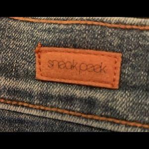 Sneak Peek Jeans - Sneak Peek High Rise Skinny size 9